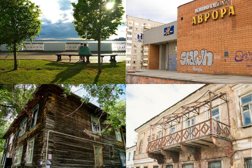 Проекты участников касались объектов в разных районах города: набережной, музеев, бараков, кинотеатра «Аврора»