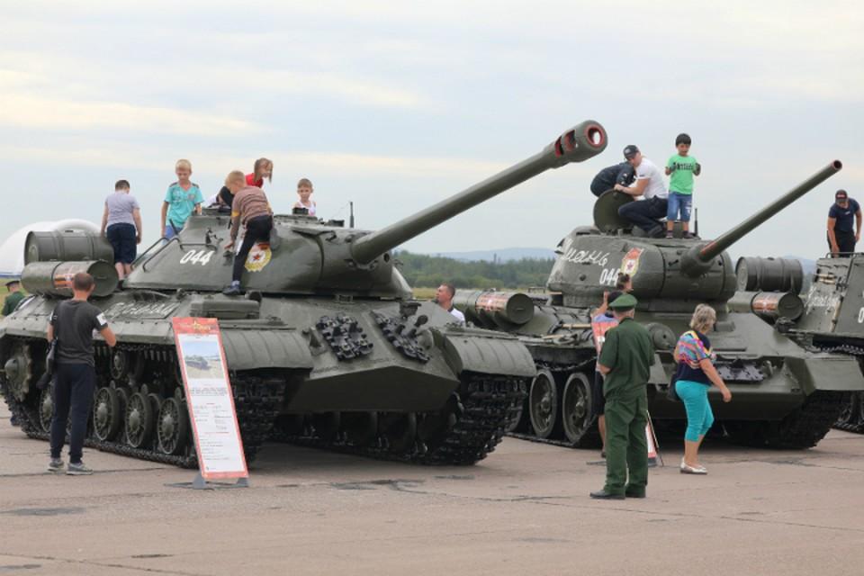Армию во всей красе показали в Хабаровске во время военно-технического форума