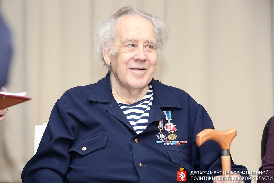Владислав Крапивин умер на 82 году жизни. Фото: Департамент информационной политики