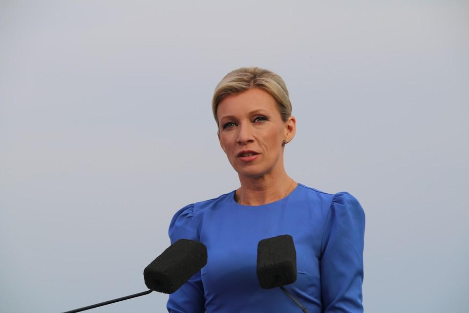 Захарова жестко прокомментировала заявления ФРГ о Навальном