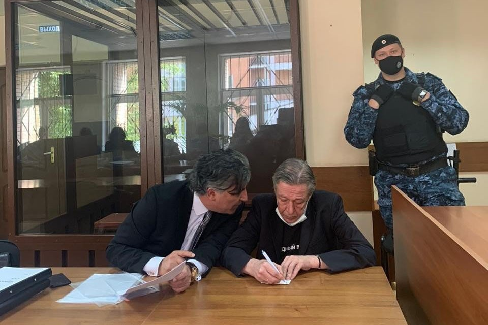 Прокурор и сторона защиты сказали свое слово в деле Михаила Ефремова. Фото: Пресс-служба Пресненского суда
