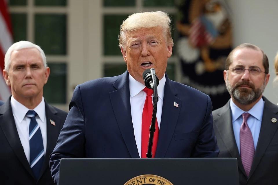 """Трамп придумал новую """"кличку"""" Байдену"""