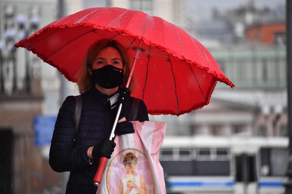 В Москве начнутся осенние дожди