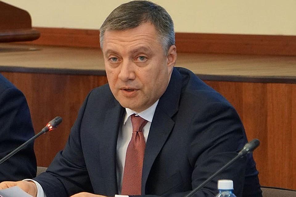 Игорь Кобзев объявил 2021 год Годом Байкала. Фото: Пресс-служба правительства Иркутской области.