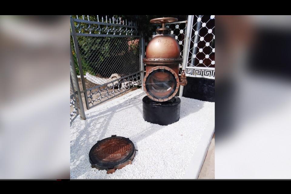 В Смоленске часть старинного водовода сделали арт-объектом. Фото: администрация г. Смоленска.