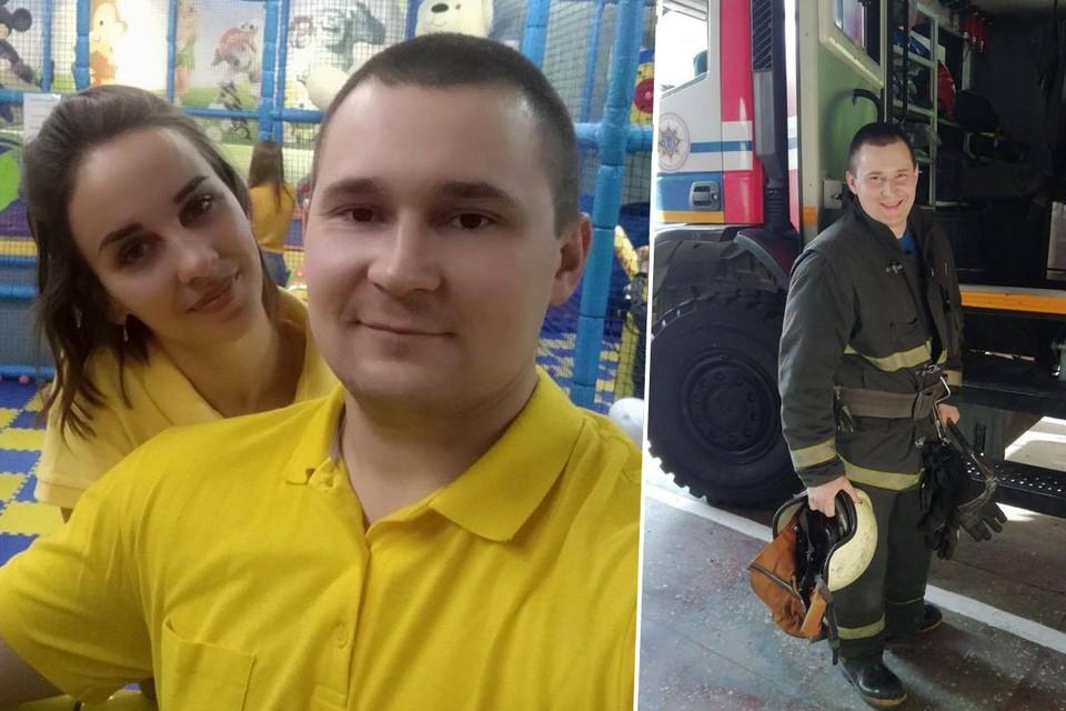 В Минске уволили пожарного, который предупредил, что будут снимать БЧБ-флаги. Фото: личный архив.
