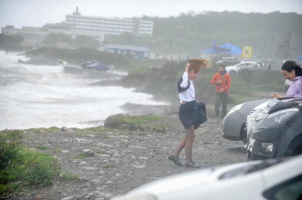 На юге Приморья снова объявлено штормовое предупреждение