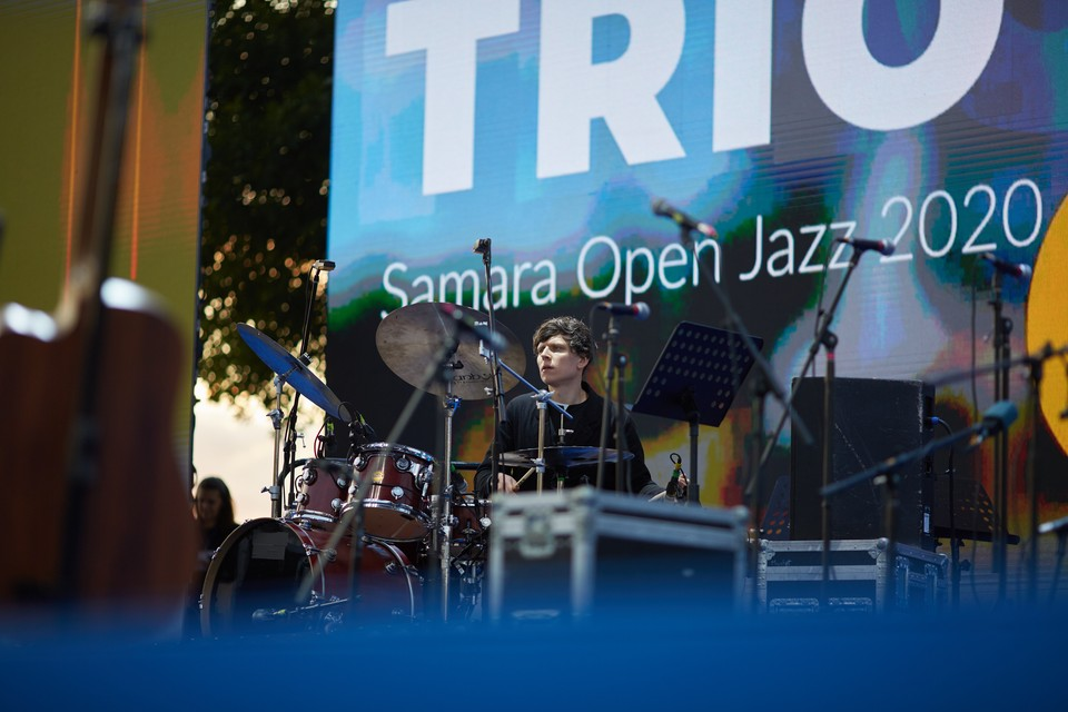 Для самарцев выступили именитые джазовые артисты