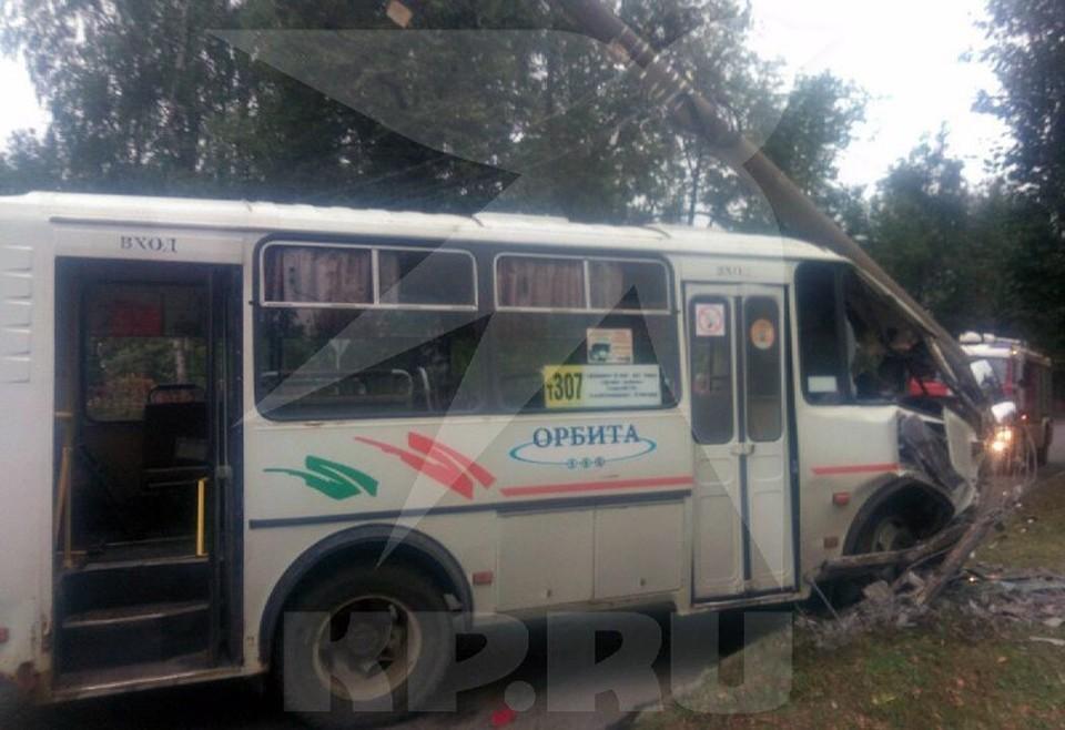 Стали известны подробности аварии с автобусом на Автозаводе.