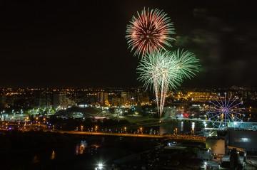 Шоу на миллион: показываем, как прошел праздничный салют ко Дню города в Челябинске