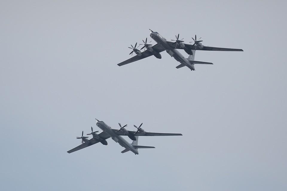 Два Ту-142 выполнили плановые полеты над Баренцевым, Норвежским и Северным морями