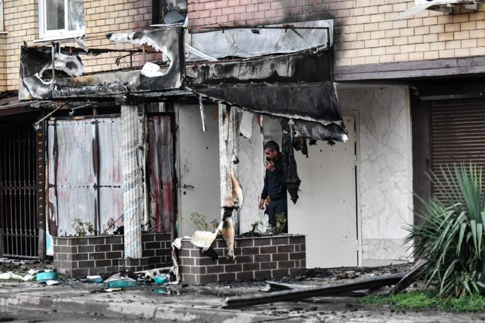 В Краснодаре после пожара в многоэтажке ввели режим ЧС
