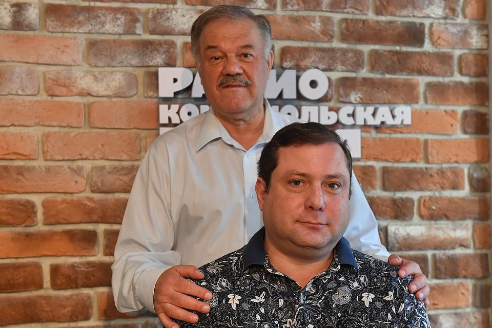 Губернатор Смоленской области Алексей Островский и наш обозреватель Александр Гамов