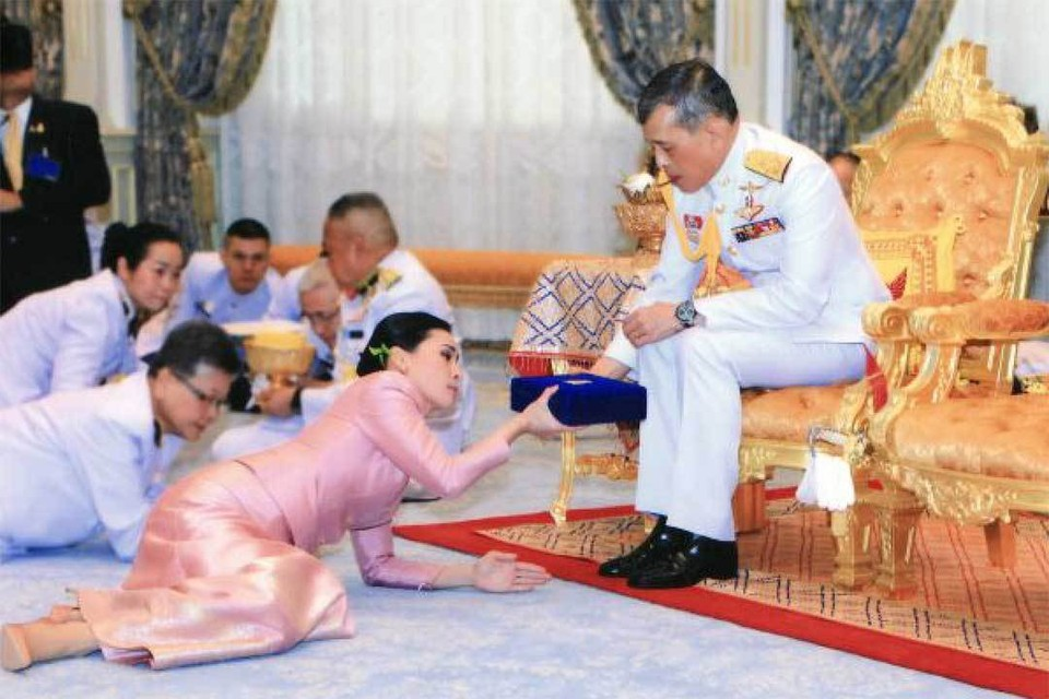 Церемония бракосочетания короля Таиланда с четвертой женой. Фото: The Bureau of the Royal Household