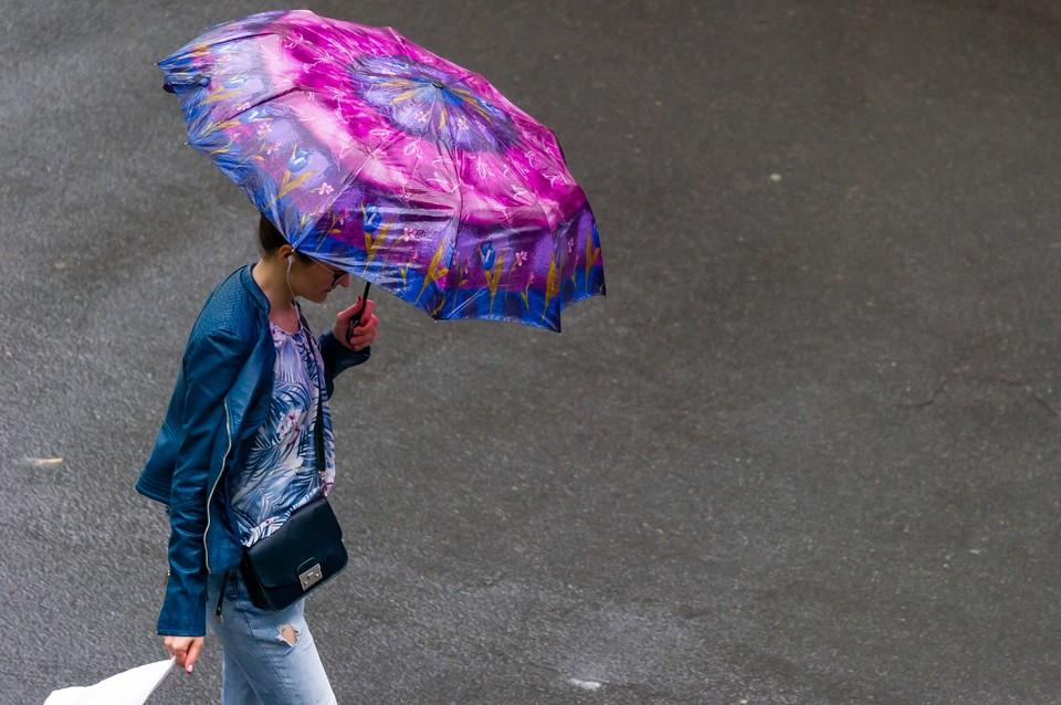В среду, 16 сентября, в Петербурге будет дождливо.