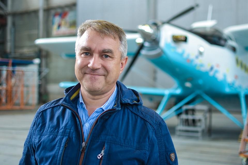 Евгений Родченков, руководитель Летно-Исследовательского Центра «Нимбус»