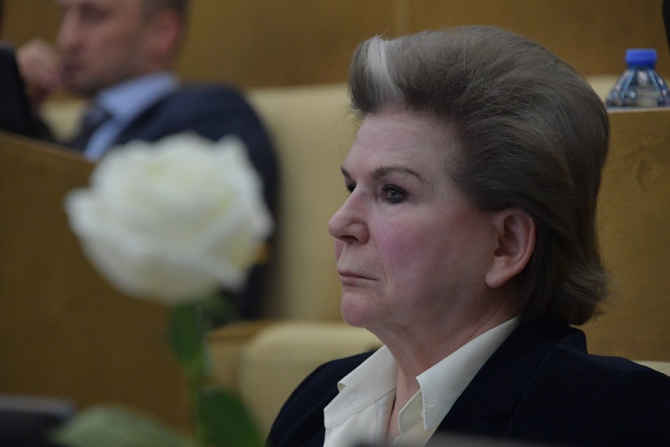 Депутат Валентина Терешкова