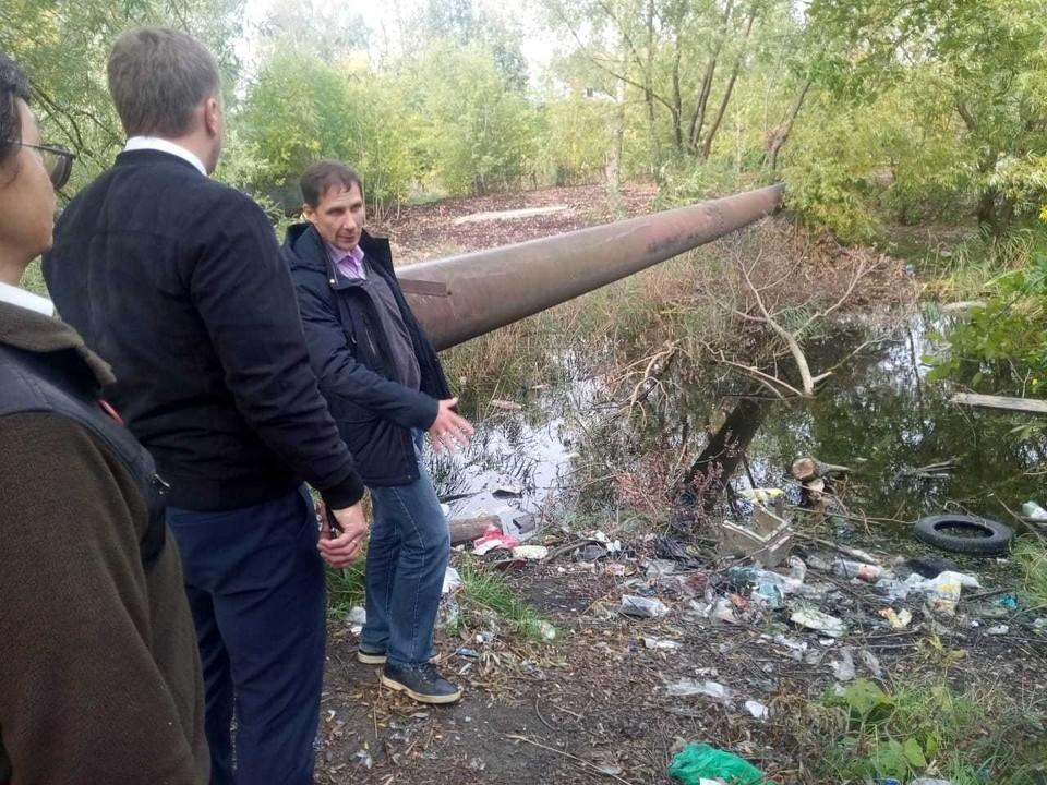 Озеро Больничное и Сортировочное обследовали на предмет загрязнения бытовым мусором