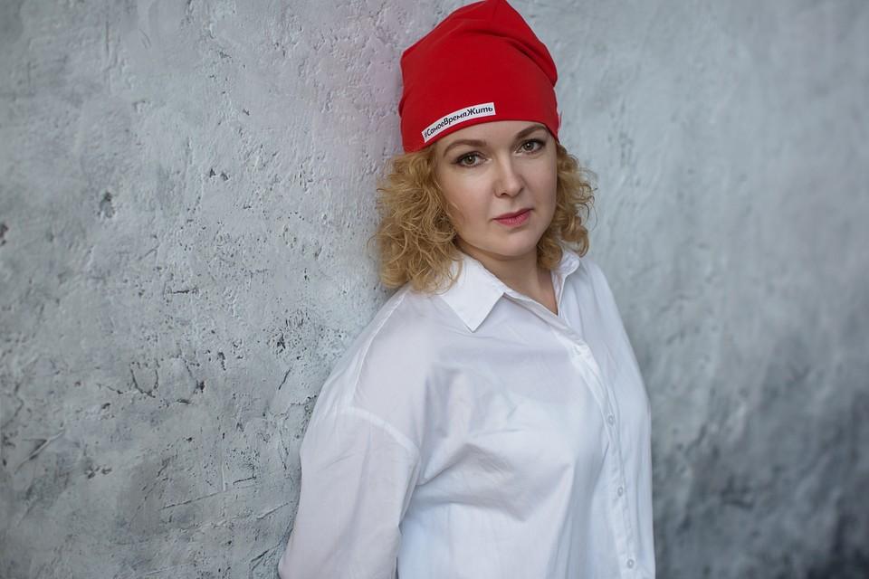 Директор Фонда борьбы с лейкемией Анастасия Кафланова Фото: Любовь Родина