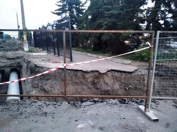В Курске на Северо-Западе завершают ремонт тепломагистрали