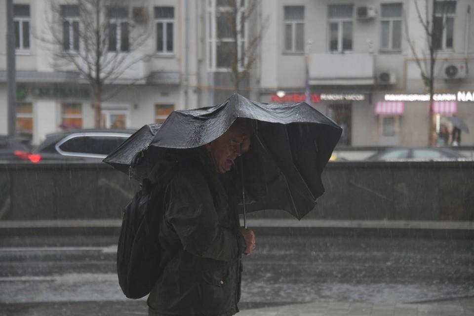 На Средний Урал идет непогода