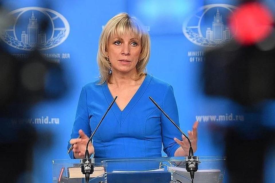 Захарова: санкции Евросоюза против Белоруссии противоречат налаживанию диалога в республике