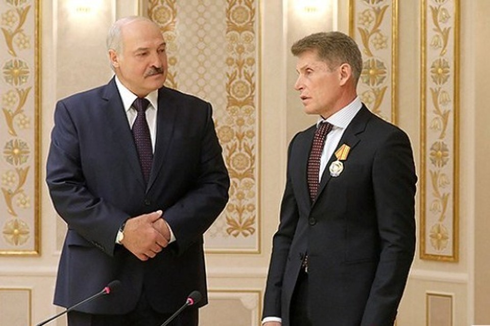 Олег Кожемяко прибыл в Беларусь. Фото: сайт президента Республики Беларусь