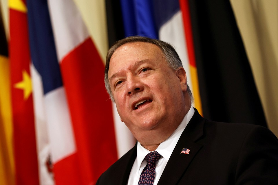 Майк Помпео объявил, что Вашингтон восстанавливает санкции против Ирана