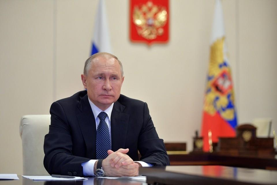 Путин записал речь для выступления на Генассамблее ООН