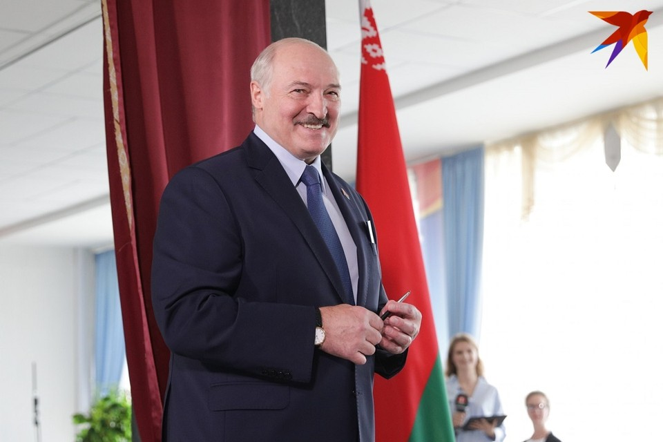 23 сентября 2020 года Лукашенко торжественно вступил в президентскую должность.