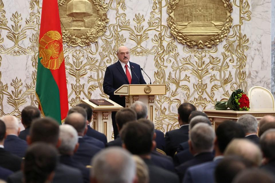 Александра Лукашенко официально стал президентом Белоруссии