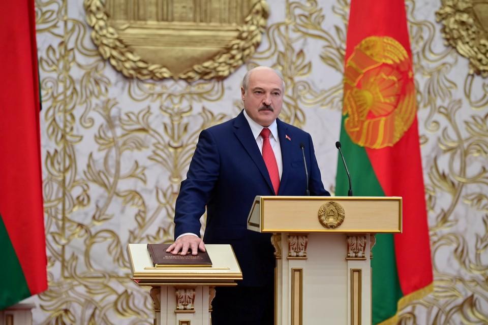 Лукашенко на инаугурации заявил о провале цветной революции в Белоруссии