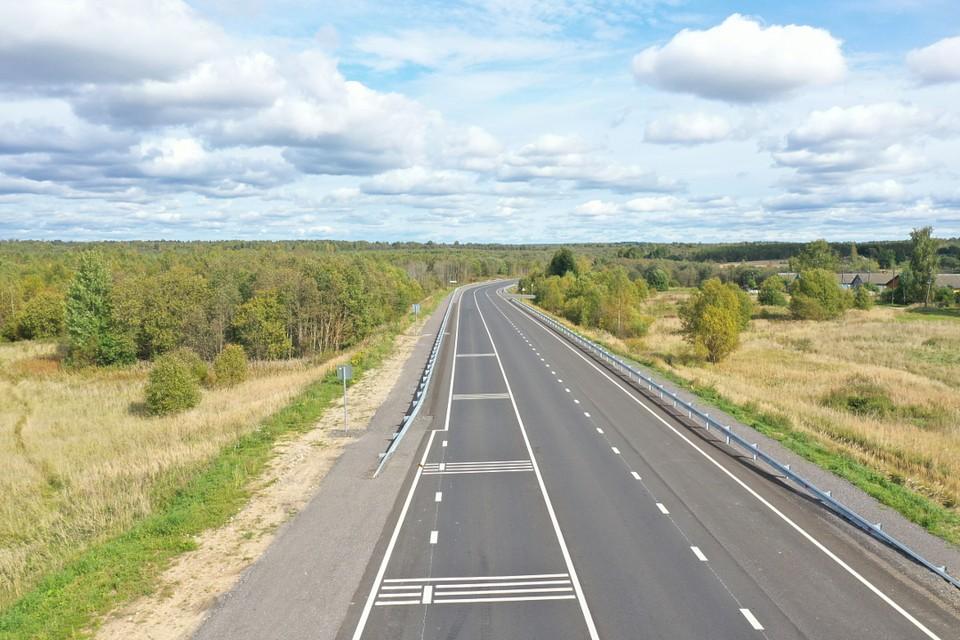Ввели в эксплуатацию 25 километров дороги на Весьегонск в Тверской области. Фото: ПТО.