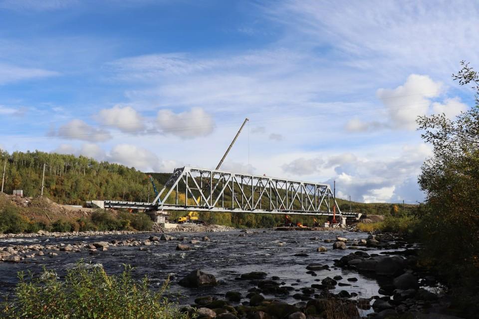 Новый мост готов к эксплуатации. Фото: Правительство Мурманской области