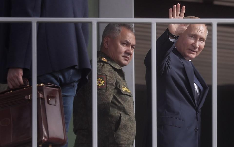 """""""Тосочка"""" и """"Терминатор"""": какое оружие показали Путину на учениях """"Кавказ-2020"""""""