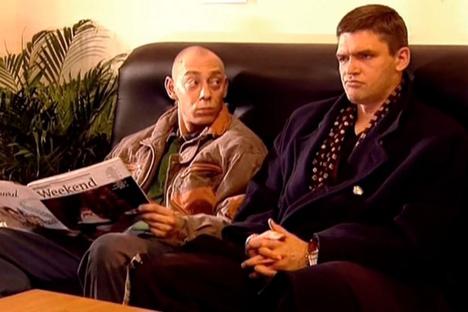 Умер актер Никита Логинов (слева)