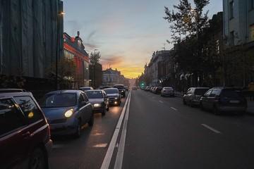 Названы причины 9-балльных пробок в Красноярске