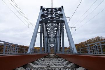 «За рекордные 105 дней»: Под Мурманском открыли новый железнодорожный мост