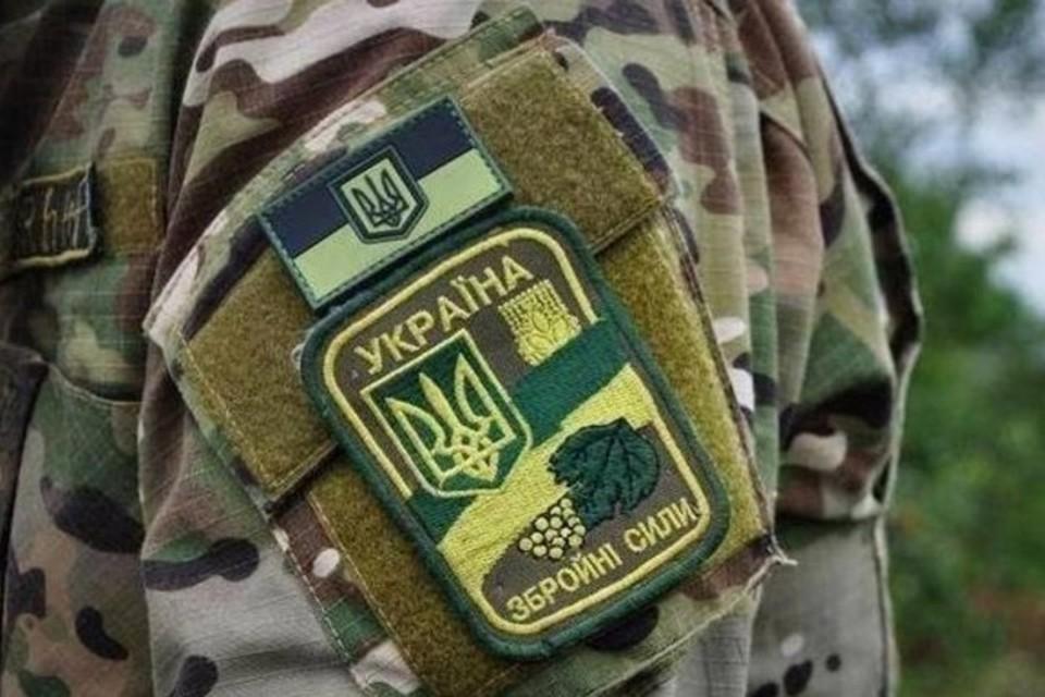 В Донбассе украинский боевик выстрелил в сослуживца из автомата