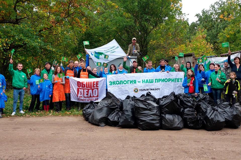 Волонтеры навели порядок на Федоровских лугах
