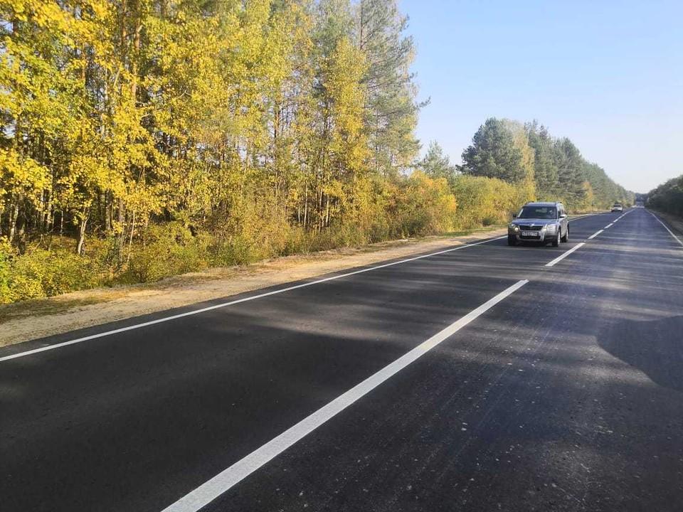 10 км дороги отремонтировали в Нижегородской области