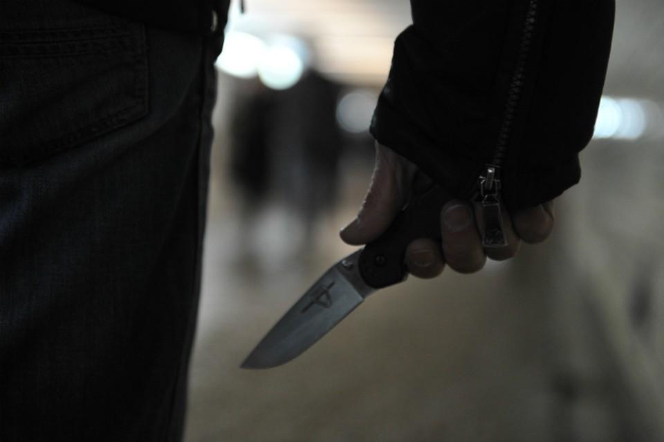При личной встрече после разговора по телефону в ход пошел нож.