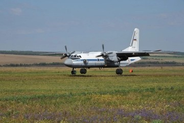 В засушливый Крым прибыл самолет для искусственного вызова дождей