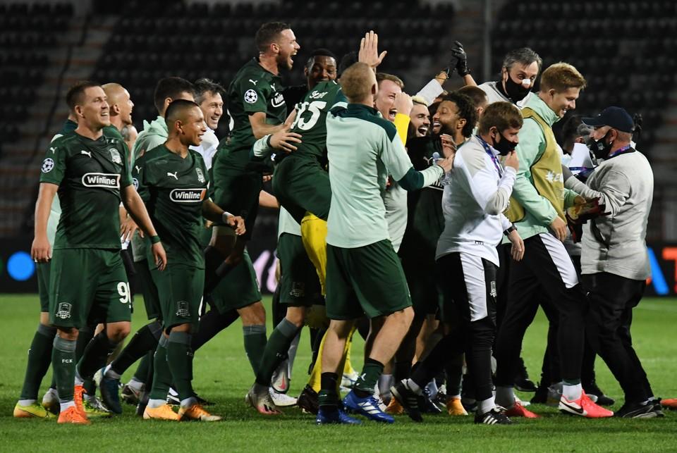 Краснодар ждут солидные призовые в Лиге Чемпионов