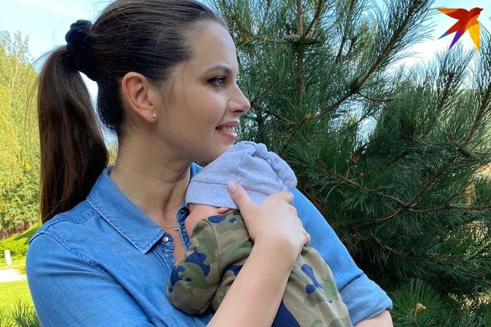 2 июня Люция Геращенко родила первенца, долгожданного ребенка назвали Андрей. Фото: личный архив.