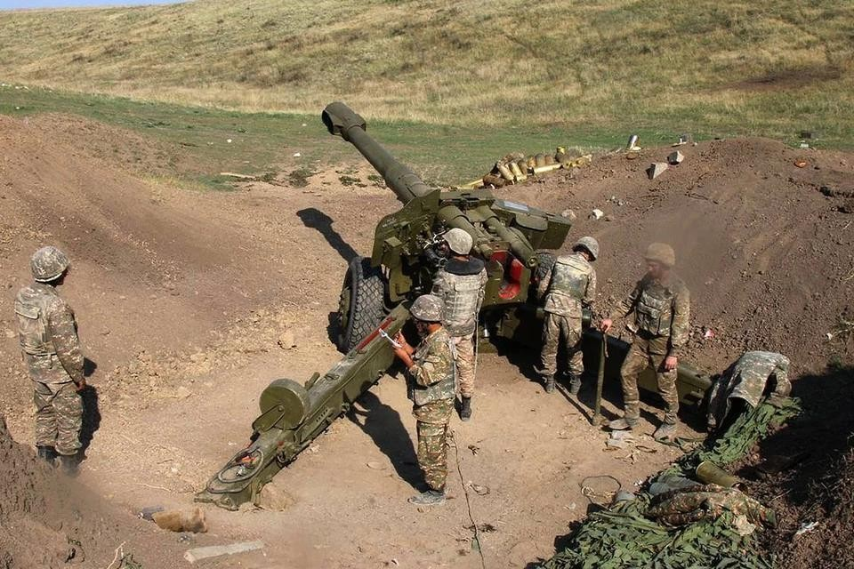 Минобороны Армении сообщило, что армия Карабаха сбила вертолет ВВС Азербайджана