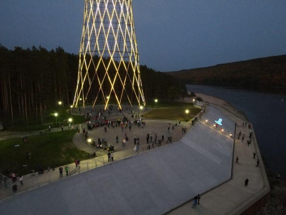 Свыше 10 000 человек посетили Шуховскую башню с момента открытия. Фото: Россети