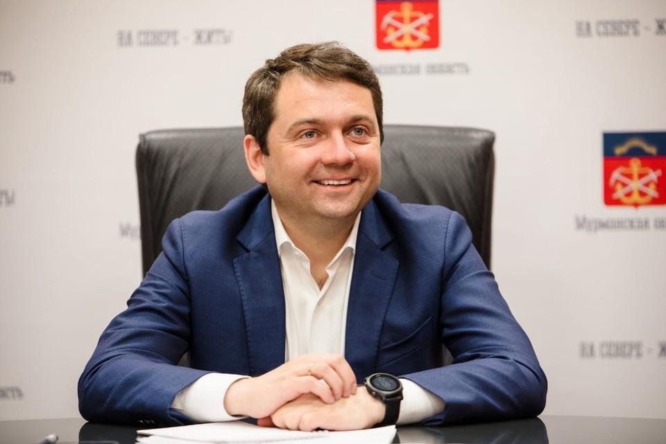 Андрей Чибис привился от ковида в Москве. Фото: Правительство Мурманской области