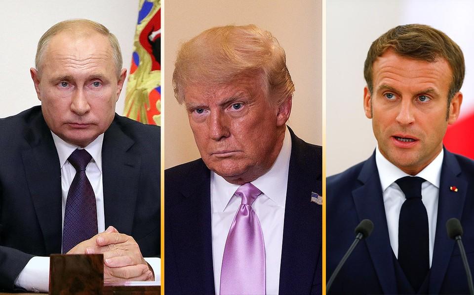 Путин, Трамп и Макрон выступили с совместным заявлением по Нагорному Карабаху.