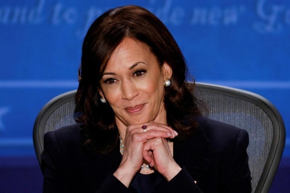 Кандидат на пост вице-президента США, сенатор-демократ Камала Харрис